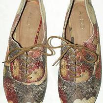 Aldo Painted Canvas Shoes Flats 8.5m Photo