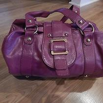 Aldo Purple Satchel Handbag Photo