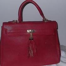 Aldo Red Purse Tassle Photo