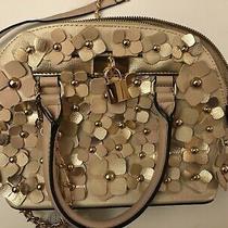 Aldo Rose Gold Handbag (Satchel) With Shoulder Strap Medium Size Photo