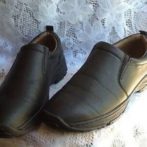 Aldo Rossini Men's Black Leather Casual Loafers Size 10 Photo