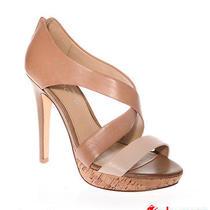 Aldo Rushanan -32 Platform Shoes Beige Brown Classy Heels Tan Wedding Party  Photo
