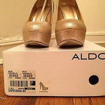 Aldo's Gold Pumps Photo