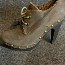 Aldo Sheepskin Lining Ankle Boots Photo