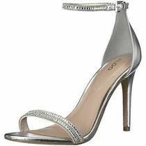 Aldo Shoes Aldo Ciasa-81 High Heels Sandal Silver Size Us 7   Eu 37.5 Photo