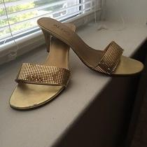 Aldo Shoes Gold Photo