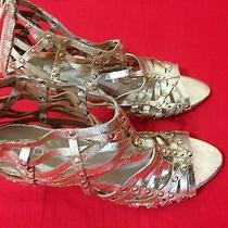 Aldo Shoes Golden Color New Without Box Photo