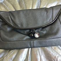 Aldo Silver Gray Cherry Handbag Blogger Quilted Clogger Clutch Bag Photo