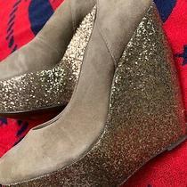 Aldo Situla Glitter Platform Heel Size - 10 Photo