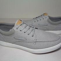 Aldo Size 10 M Bridleholme Grey Textile Lace Loafers New Men's Shoes Photo