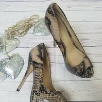 Aldo Snake Skin Heels Size 36 (6) Photo