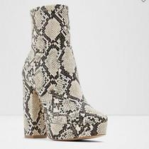 Aldo Snakeskin Boots Size 9 Photo