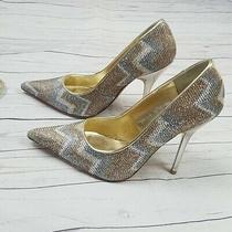 Aldo Sparkly Heels Size 7 Photo