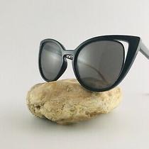 Aldo Sunglasses Cat Eye Black and Beige Photo