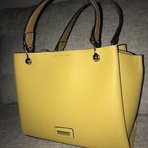 Aldo Viremma Tote Bag Top Handle Shoulder Strap Handbag Nwt Dark Yellow/ Mustard Photo