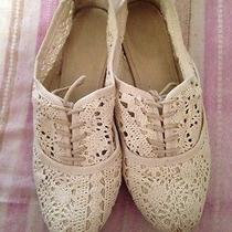 Aldo White Lace Shoes Photo
