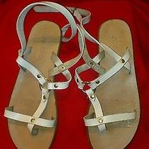 Aldo White Sandal Size 5.5 - 6 & Forever 21 Photo