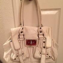 Aldo White Shoulder Handbag Photo