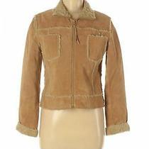 Aldo Women Brown Leather Jacket M Photo