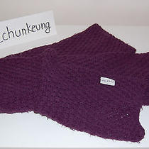 Aldo Women Knit Scarf Purple Photo