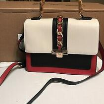 Aldo Womens Handbag Raebeth Red Black White Crossbody Purse Nwt Photo