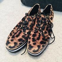 Aldo Womens Leopard Print Shoe Size 8 Photo