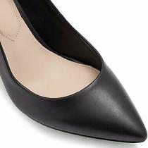 Aldo Women's Shoes Coroniti Leather Pointed Toe Classic Pumps Black Size 7.0 Y Photo