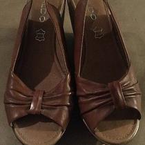 Aldo Women's Wedge Platform Heel Size 37 Us 6.5 Beige Photo