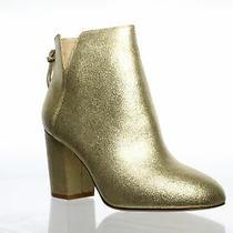 Aldo Womens Dominicaa Gold Fashion Boots Size 7 Photo