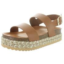 Aldo Womens Ruryan Tan Leather Footbed Sandals Shoes 5 Medium (Bm) Bhfo 7828 Photo