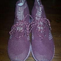 Aldo Womens Size 9 Burgundy Fashion Sneakers Shoes Photo
