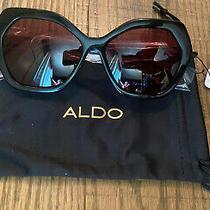 Aldo Womens Sunglasses Abeanna-98 Black Frame Cr-39 Lens New Photo