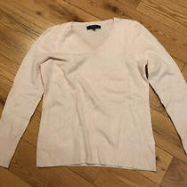 Alex Marie 100% Cashmere Blush Pink Sweater Xl Small Hole as Pictured Pilling Photo