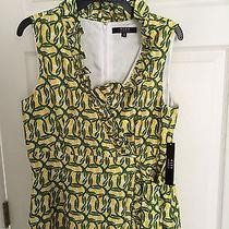 Alex Marie Dress Yellow and Green Brand New Nwt Size 10 Photo