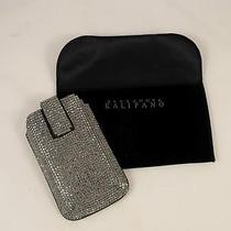 Alexander Kalifano Swarovski Crystal Leather Cell Phone Case Pouch Iphone Photo