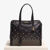 Alexander Mcqueen Black Studded Leather Skul Lpadlock Tote Bag Handabg Nwt Photo