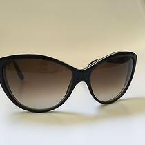 Alexander Mcqueen Cat Eye Sunglasses Amq 4147/s Black/brown  Photo