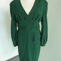 Alexander Mcqueen Green Dress Photo