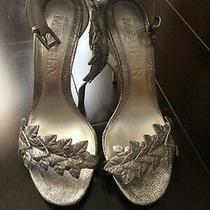 Alexander Mcqueen High Heels Silver Sandals Shoes Heels Photo