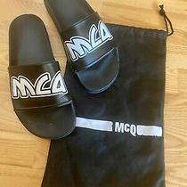 Alexander Mcqueen Mcq Sliders Sandals Rrp150 Size Eu41 Photo