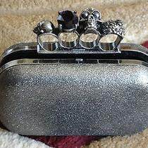 Alexander Mcqueen Metallic Clutch Photo