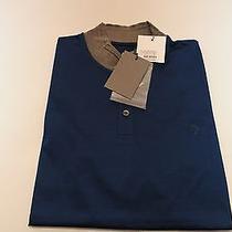 Alexander Mcqueen Polo Purple T Shirt Grey Collar Polo Medium New Auth 163 Photo
