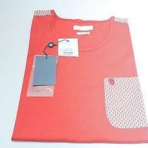Alexander Mcqueen Red Pocket T Shirt Skull Detail Pocket Shoulder Medium 180 Photo