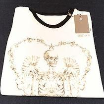 Alexander Mcqueen Skeleton Heart 38 Small Tank Top New Auth Female 227 Photo