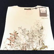 Alexander Mcqueen Skull Butterfly T Shirt Female 42 Large New Auth 215 Photo