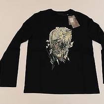 Alexander Mcqueen Skull Design Long Sleeve T Shirt Medium 144a Photo