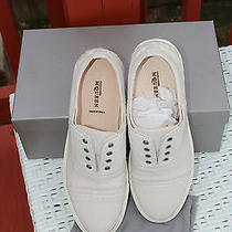 Alexander Mcqueen Studded Low Top Trainer White 9us 845 Photo