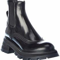 Alexander Mcqueen Wander Leather Chelsea Boot Women's Photo