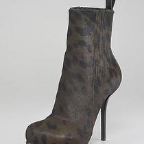 Alexander Wang Calf Hair Aymeline  Platform Bootie Ankle Boot 8.5 Shoe 38.5 Photo