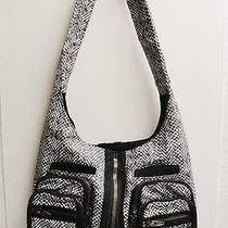 Alexander Wang Donna Leather Snake Print Hobo Shoulder Bag  Photo